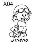 Auto nálepka - Dítě v Autě - Kluk s medvídkem