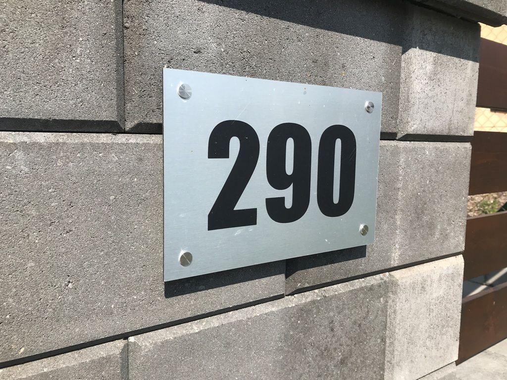 Číslo popisné na dům, plot, vchod Home Deco