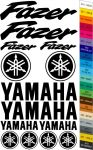 "Moto polep Sticker ""Yamaha Fazer"" Stickers Vinyl Home Deco"