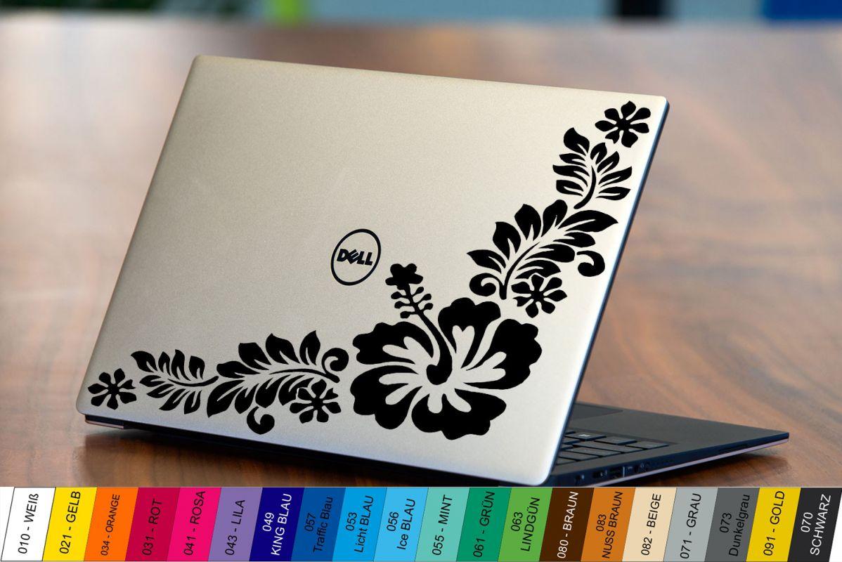 Nálepka na Notebook/Laptop - Ibišek Home Deco