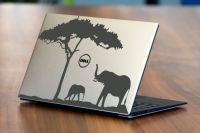 Nálepka na Notebook/Laptop - Sloni Home Deco