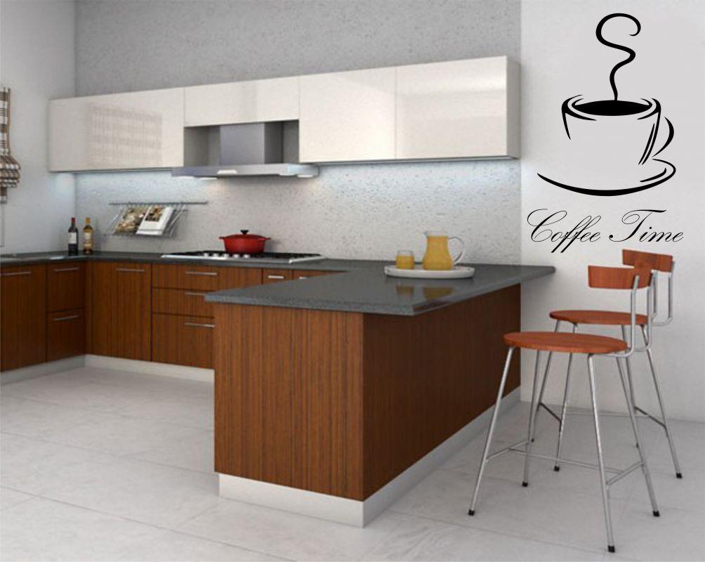 Nálepka na zeď - Čas na Kávu Home Deco