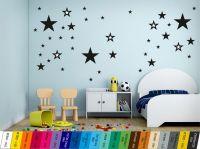 Nálepka na zeď - Hvězdičky Sada 41ks. Home Deco