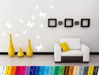 Nálepka na zeď - Motýlci Sada 13ks Home Deco
