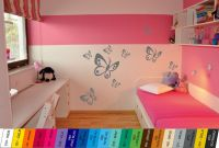 Nálepka na zeď - Motýlci Sada 9ks Home Deco