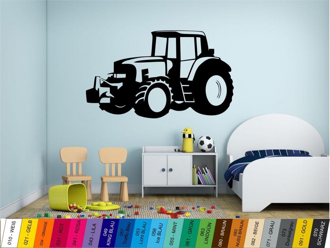 Nálepka na zeď - Traktor Home Deco
