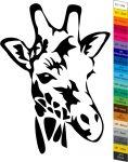 Nálepka na zeď - Zvířátka - Žirafa Home Deco