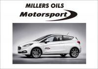 "Auto nálepka Logo ""Millers Oils"""