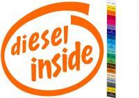 Auto nálepka - Diesel Haldex Quattro Inside