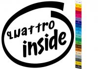Auto nálepka Diesel Haldex Quattro Inside - Sticker Home Deco