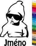 Auto nálepka - Dítě v Autě - Sticker Hangover