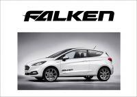 """Auto nálepka Logo """"Falken"""""""