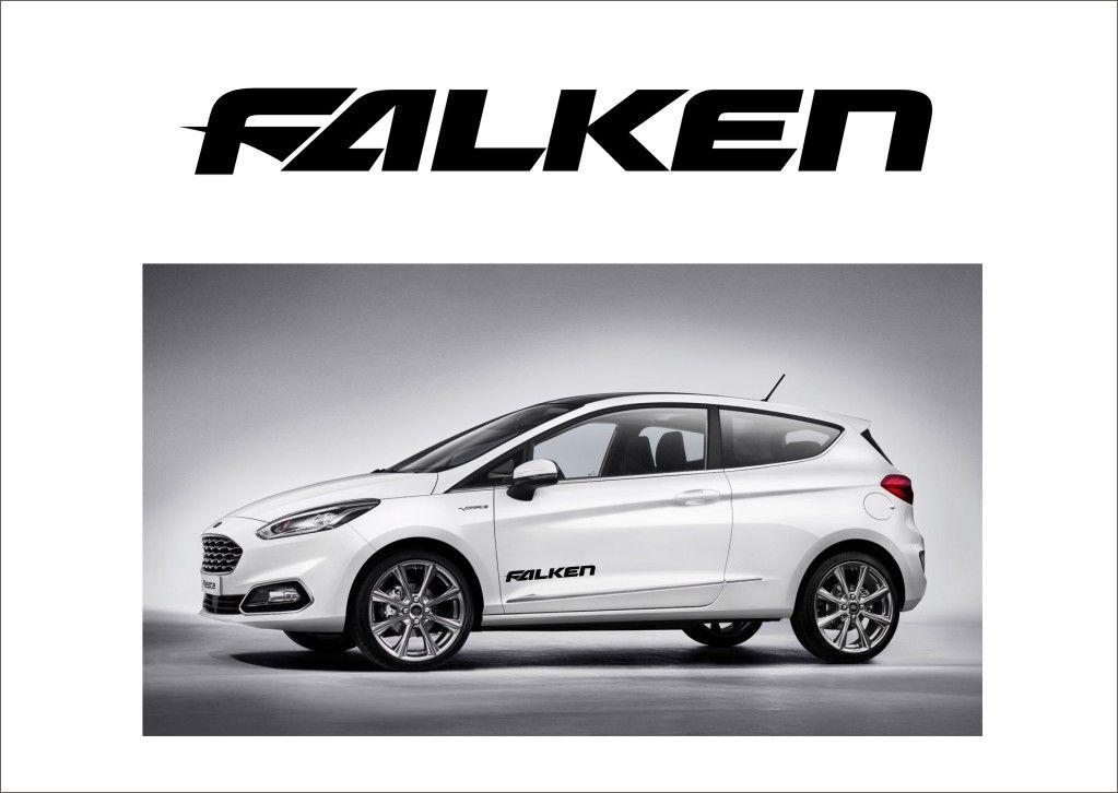 """Auto nálepka Logo """"Falken"""" Home Deco"""