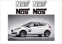 """Auto nálepka Logo """"NOS"""""""