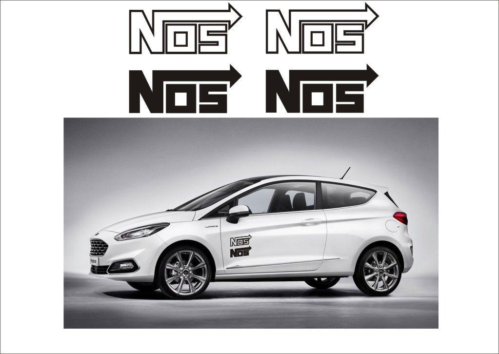 """Auto nálepka Logo """"NOS"""" Home Deco"""