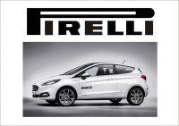 "Auto nálepka Logo ""Pirelli"""