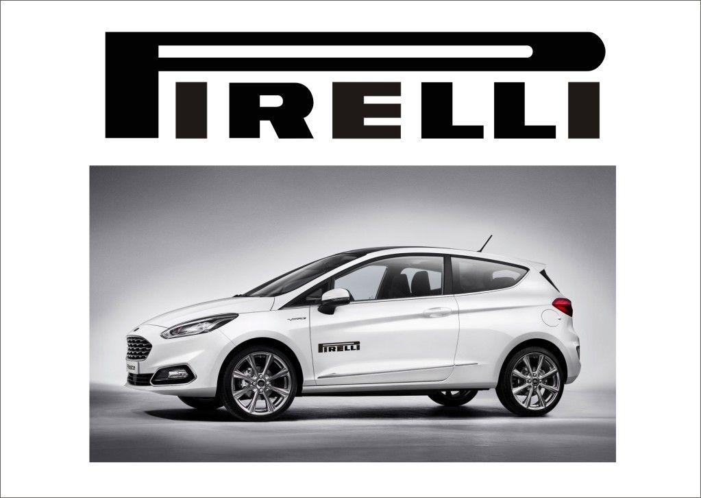 "Auto nálepka Logo ""Pirelli"" Home Deco"