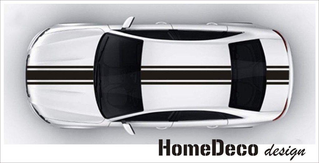 Auto nálepka rychlé pruhy 04 Home Deco