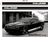 Auto nálepka rychlé pruhy s nápisem Home Deco