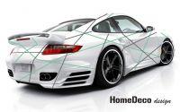 Designový polep automobilu - Linky Home Deco