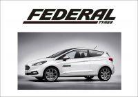 "Auto nálepka Logo ""Federal Tyres"""