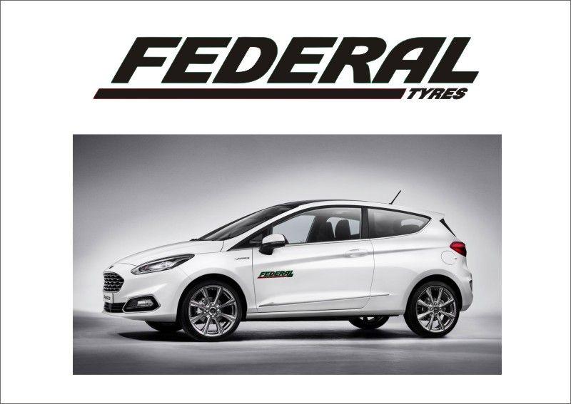 """Auto nálepka Logo """"Federal Tyres"""" Home Deco"""