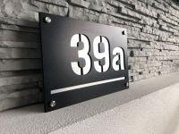 Číslo popisné - 20x30cm Alu Dibond / Černá - CNC