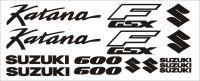 Moto Polep Suzuki GSX 600F Katana