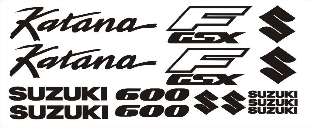 "Moto polep Sticker ""Suzuki GSX 600F Katana"" Stickers Vinyl Home Deco"
