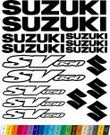 "Moto polep Sticker ""Suzuki SV650"" Stickers Vinyl Home Deco"