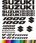 "Moto polep Sticker ""Suzuki V-Strom 1000"" Stickers Vinyl Home Deco"