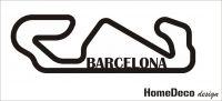 Nálepka na zeď - F1 okruh Barcelona Home Deco