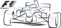 Nálepka na zeď - Formule 1 Home Deco