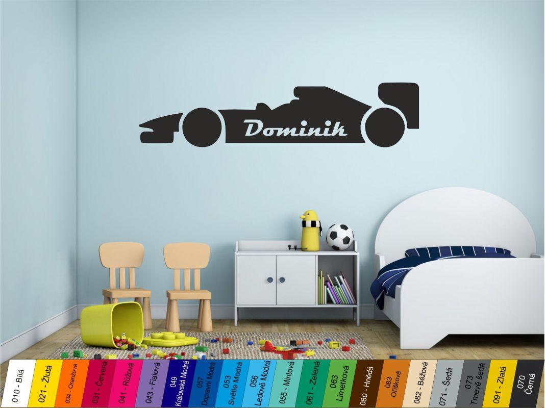 Nálepka na zeď - Formule Home Deco