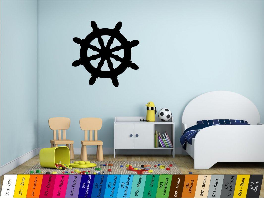 Nálepka na zeď - Kormidlo Home Deco