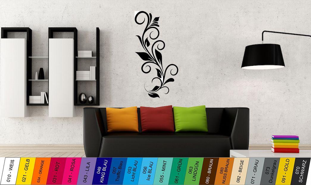 Nálepka na zeď - Květina Home Deco