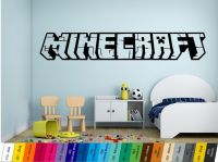 Nálepka na zeď - Minecraft Home Deco