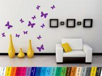 Nálepka na zeď - Motýlci Sada 13ks