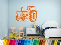 Nálepka na zeď - Traktůrek pro nejmenší Home Deco