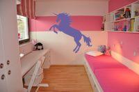 Nálepka na zeď - Zvířátka - Jednorožec Home Deco