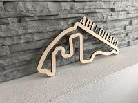 Abu Dhabi Závodní okruh Formule 1 v Abu Dhabi - Dřevěné mapy závodních okruhů Formule 1