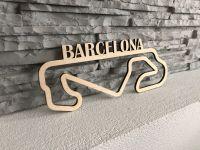 Barcelona Závodní okruh Formule 1 v Barceloně - Dřevěné mapy závodních okruhů Formule 1