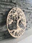 Dřevěná dekorace na zeď - Strom života
