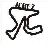 Jerez Závodní trať Formule 1 v Jerezu - Dřevěné mapy závodních okruhů Formule 1