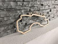 Melbourne Závodní okruh Formule 1 v Melbourne - Dřevěné mapy závodních okruhů Formule 1