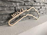 Monza Závodní okruh Formule 1 v Monze - Dřevěné mapy závodních okruhů Formule 1